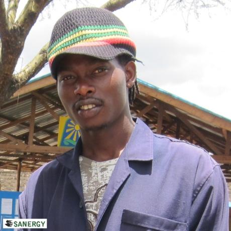 Sanergy Plant Manager Samuel Muindi